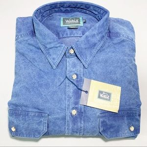 Woolrich Longsleeve Denim Chambray Button Up Shirt